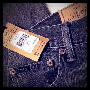 Ralph Lauren Callen high rise slim jeans.
